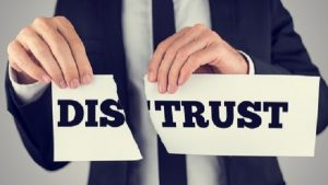 بی اعتمادی در فروش