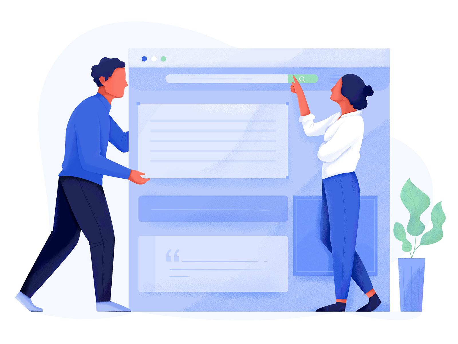 انتخاب برچسب ها نسبت به نیاز کاربر