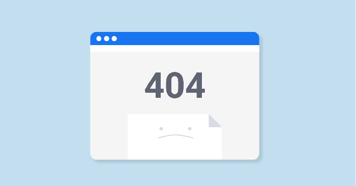 صفحه 404 و ریدایرکت