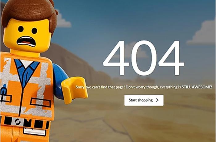 404 سایت lego