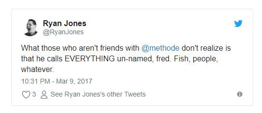 توییت رایان جونز