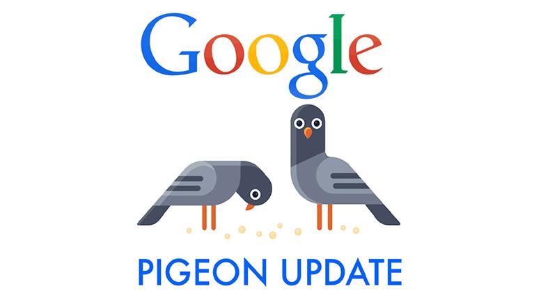 آموزش سئو سایت برای الگوریتم کبوتر